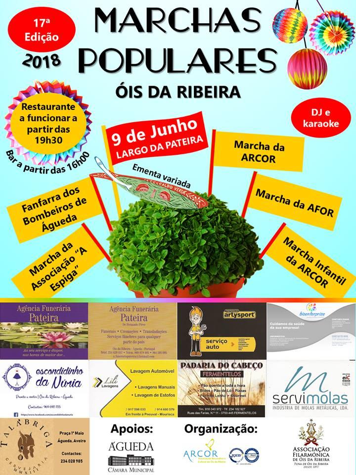 MARCHAS POPULARES DE ÓIS DA RIBEIRA!