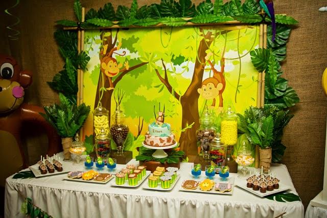 Decoração Festa Infantil BH macaco