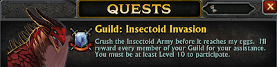 Insectoid Invasion Guild Quest