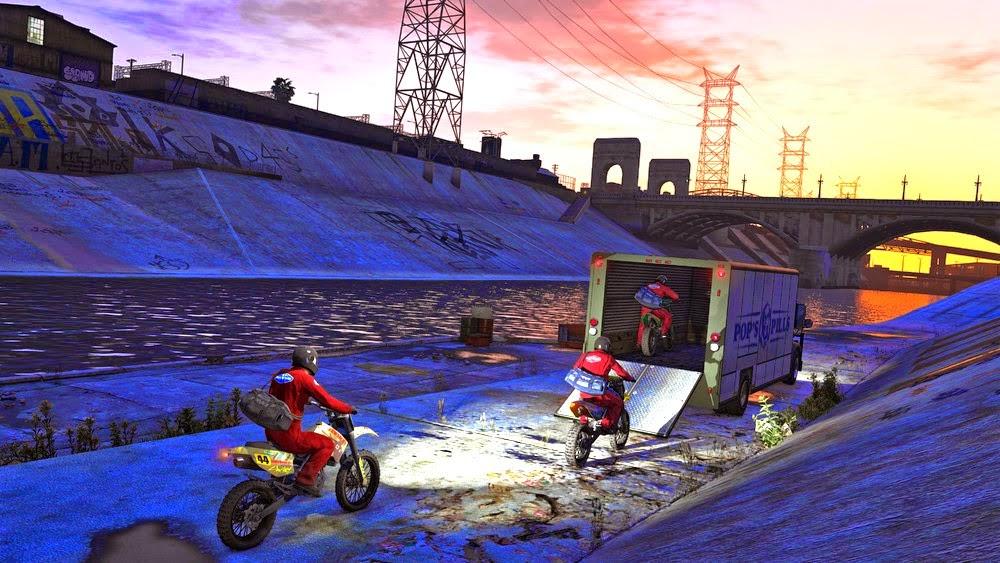 GTA V - Novas Imagens do GTA 5 de PC em 4K