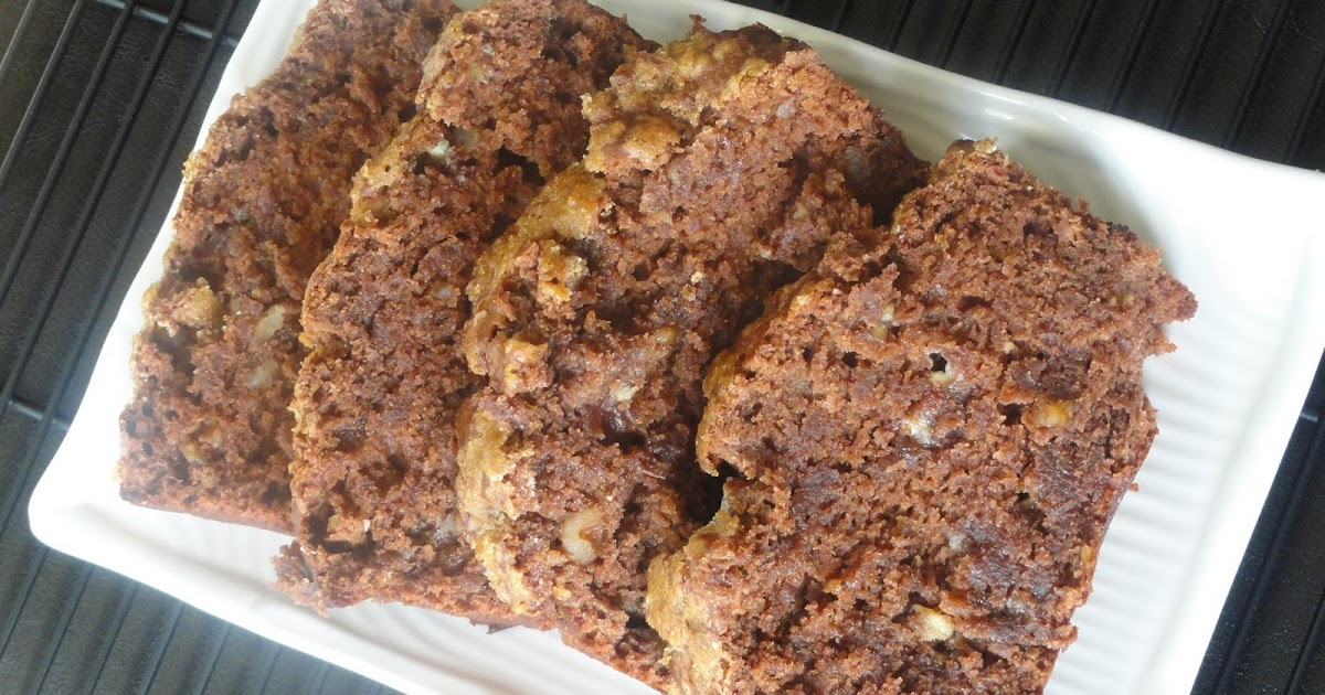 Peek into My Kitchen: Eggless Chocolate ~ Banana Bread