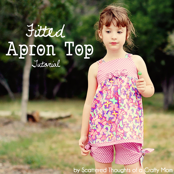 How to sew a summer top, tutorial includes free pattern