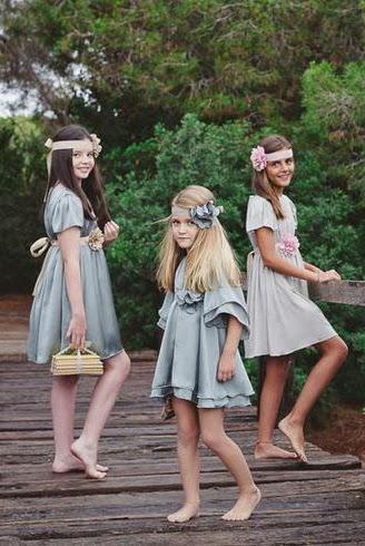 vestidos fiesta para niña Eva Jerez