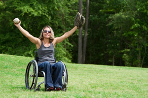 Softball, Wheelchair, handicap, paraplegic, paralyzed, sports, PTSD, post traumatic stress disorder, stress, happiness