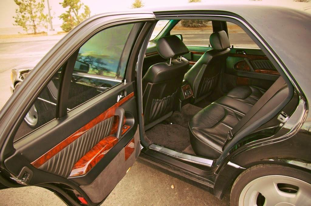 mercedes w140 interior