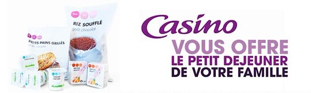 Bon de réduction 1€16 à valoir sur vos prochaines courses + paquet de chips offert Casino