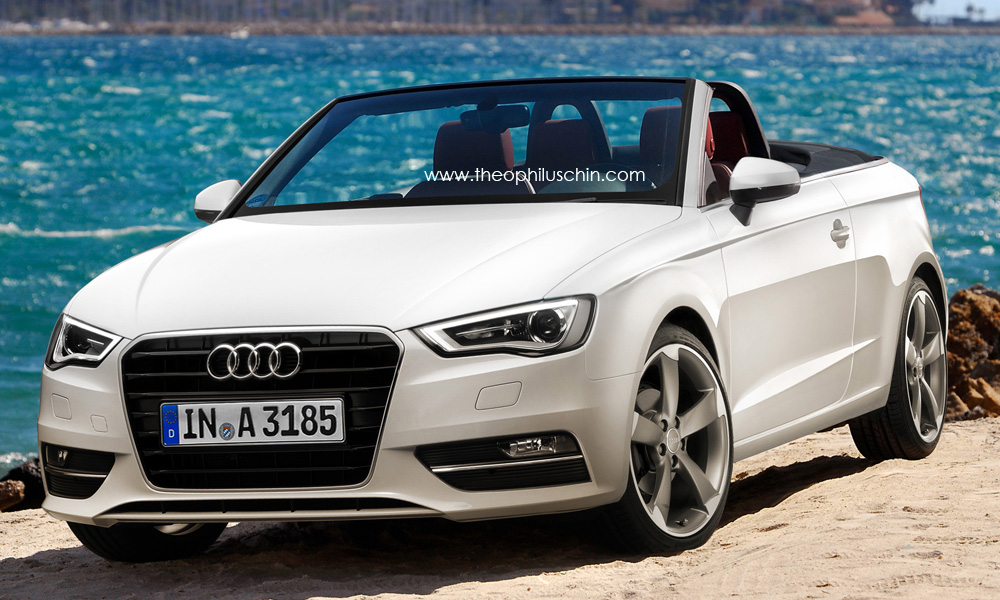 audi a3 convertible renderings garage car. Black Bedroom Furniture Sets. Home Design Ideas