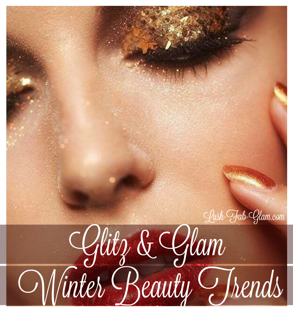 Glisten, glitter and exude glamour with these winter beauty trends.
