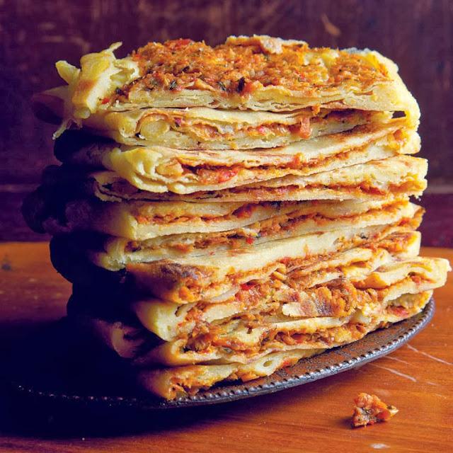 Mahjouba: Alžirske palačinke