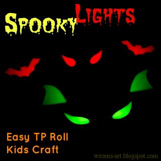 spooky paper rolls 1     wesens-art.blogspot.com