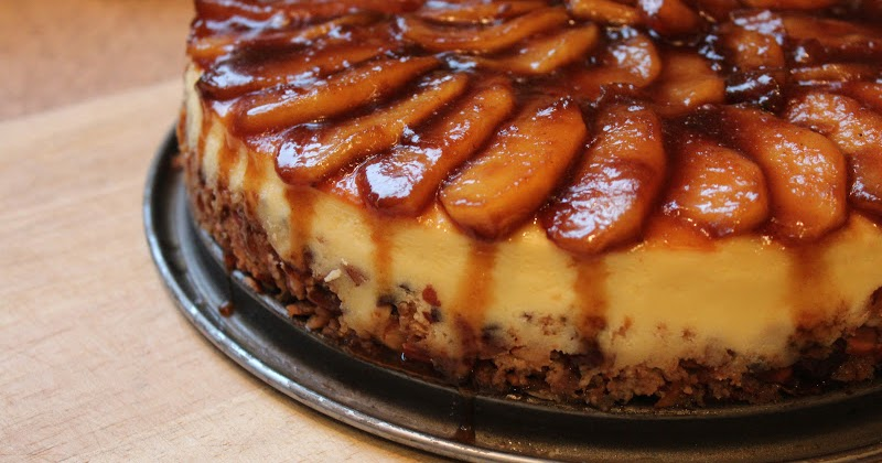Reestablishing the Food Connection: Apple-Almond Cheesecake