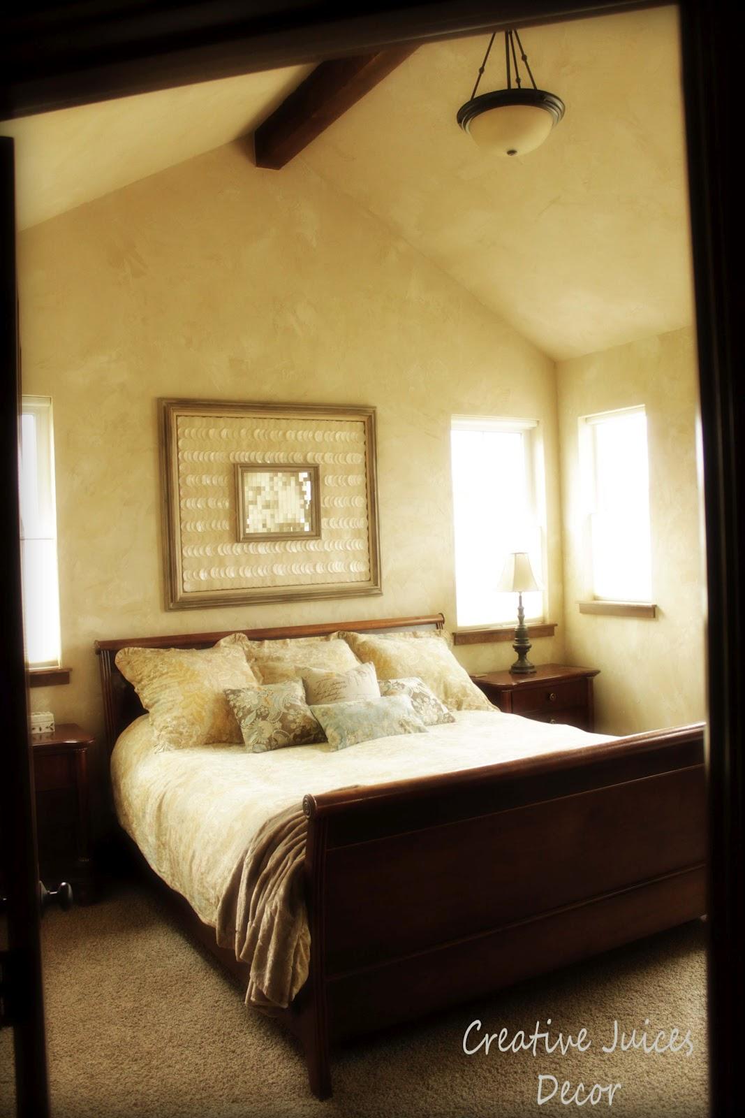 Blog Rustic Tuscan Master Bedroom