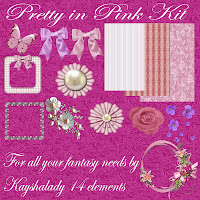 pretty in pink kit digital scrapbooking kits