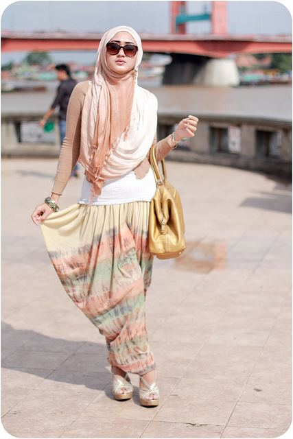 Ways To Style your hijab hijab-styles-for-tee