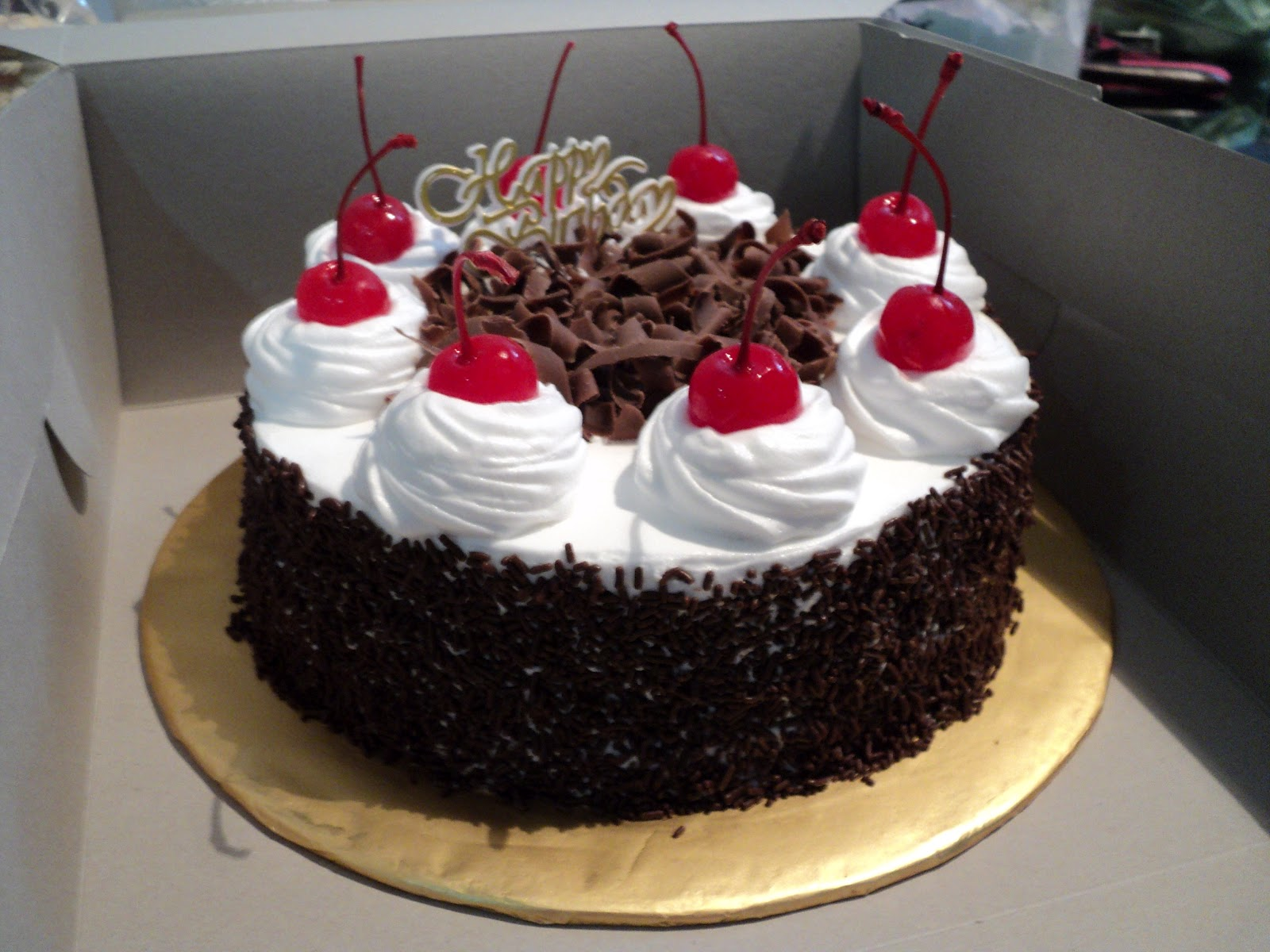 Cake Black Forest Birthday : ~Sweet~: Black Forest Birthday Cake