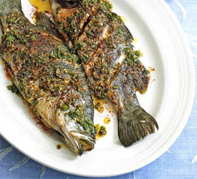 Tip all the dressing ingredients into a food processor with a pinch of salt and blitz to Barramundi with Moroccan spices recipe