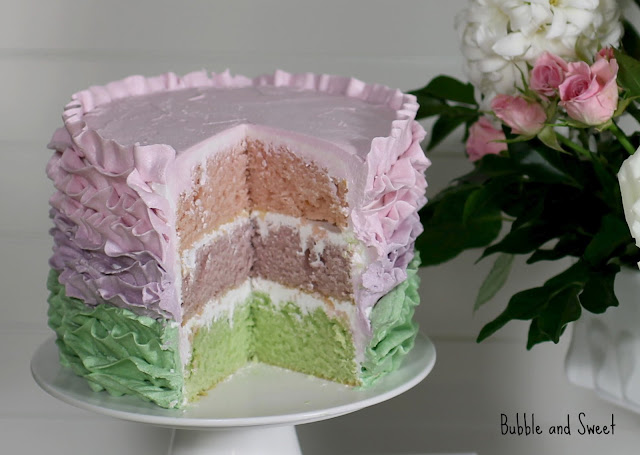 Bubble and Sweet: How to make a ruffled buttercream ...