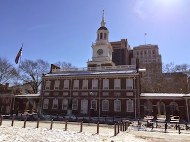 Chuck and Lori's Travel Blog - Independence Hall, Philadelphia