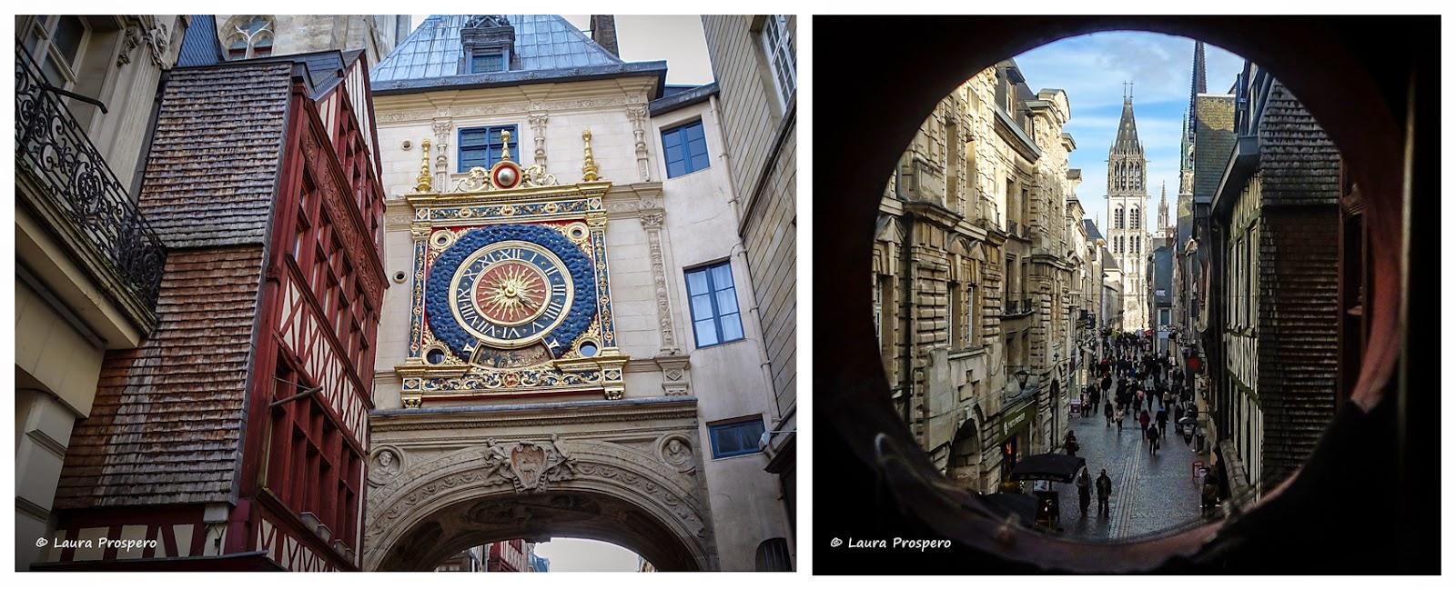 Gros Horloge - Rouen © Laura Prospero
