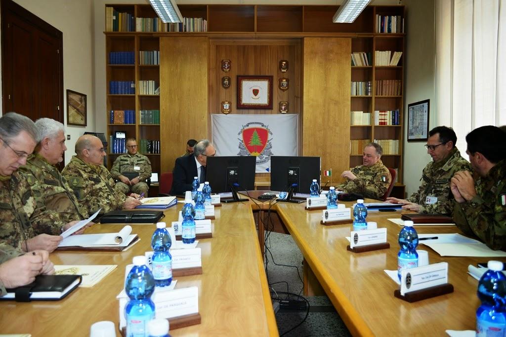 Visita del Prefetto alla Brigata Pinerolo-Bari