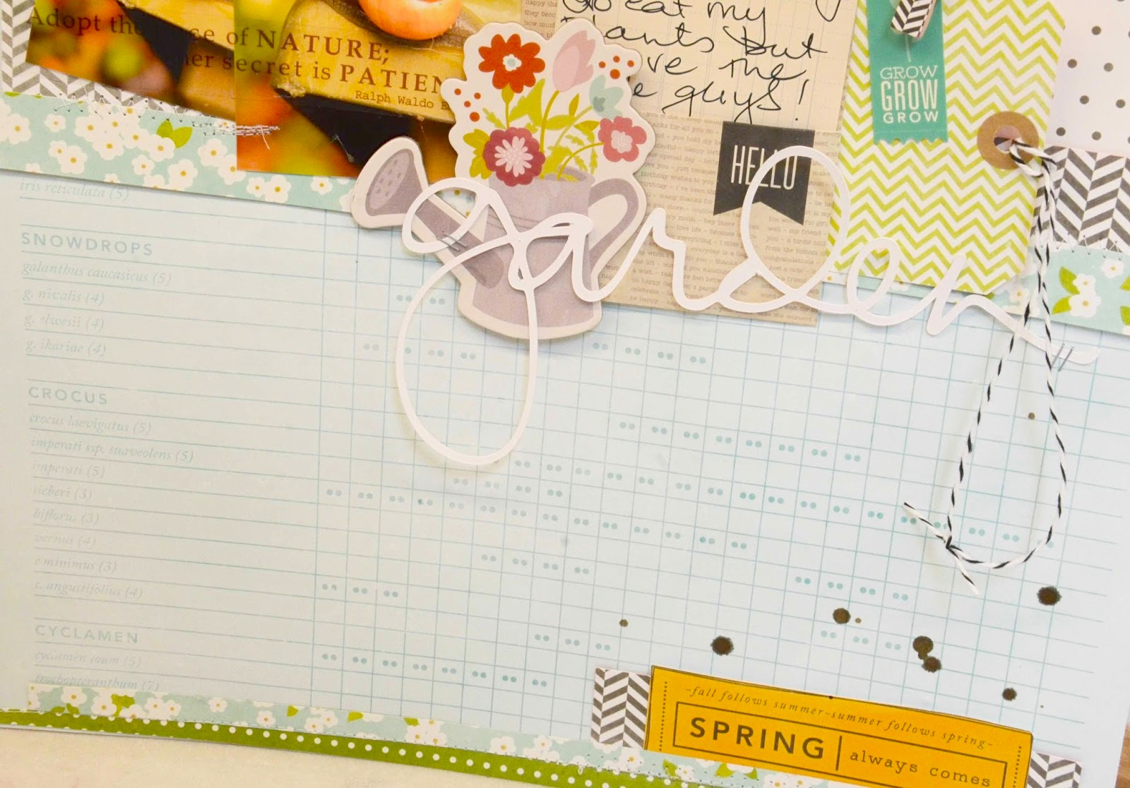 SRM Stickers Blog - Garden Layout by Laurel - #layout #stickers #garden