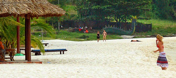Cambodia beach holiday at Sihanoukville