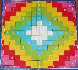 Rainbow Scrabble.