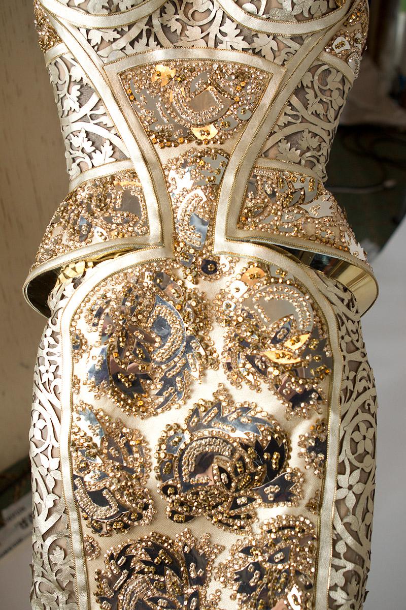 Andrea janke finest accessories haute couture silvery
