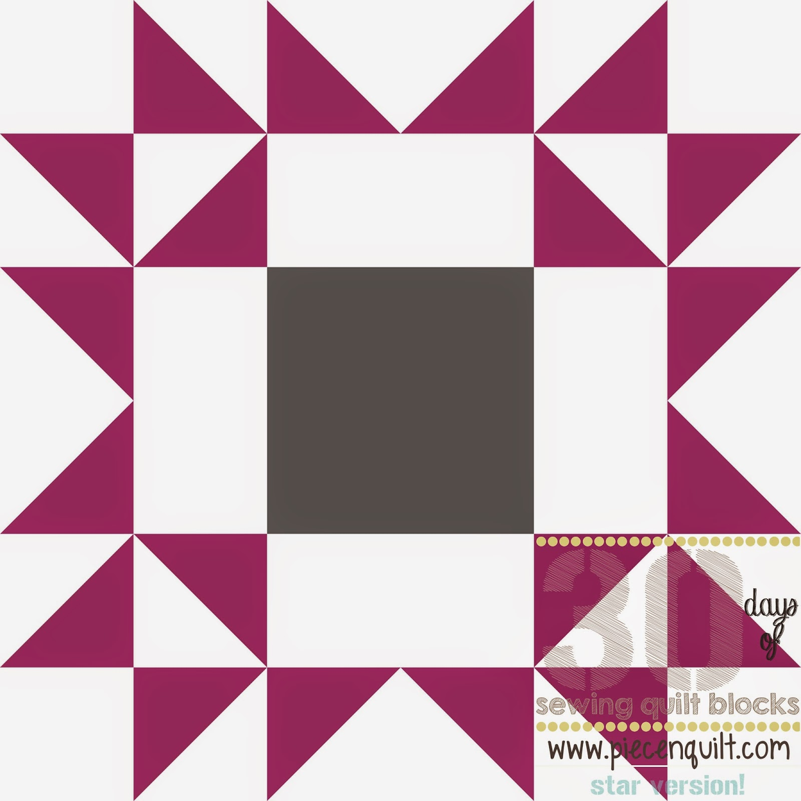 Piece N Quilt How To Arizona Star Quilt Block 30 Days Of Sewing