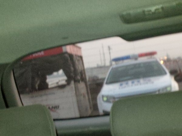 New Lagos State RRS Police Car Spotted on 3rd Mainland Bridge