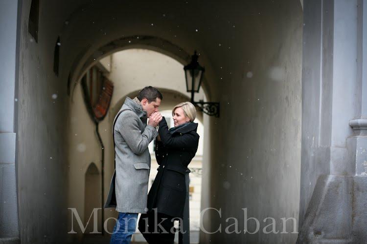 Prague love shoot