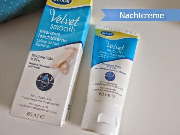Scholl Velvet Smooth Intensive Nachtcreme / Fusspflege