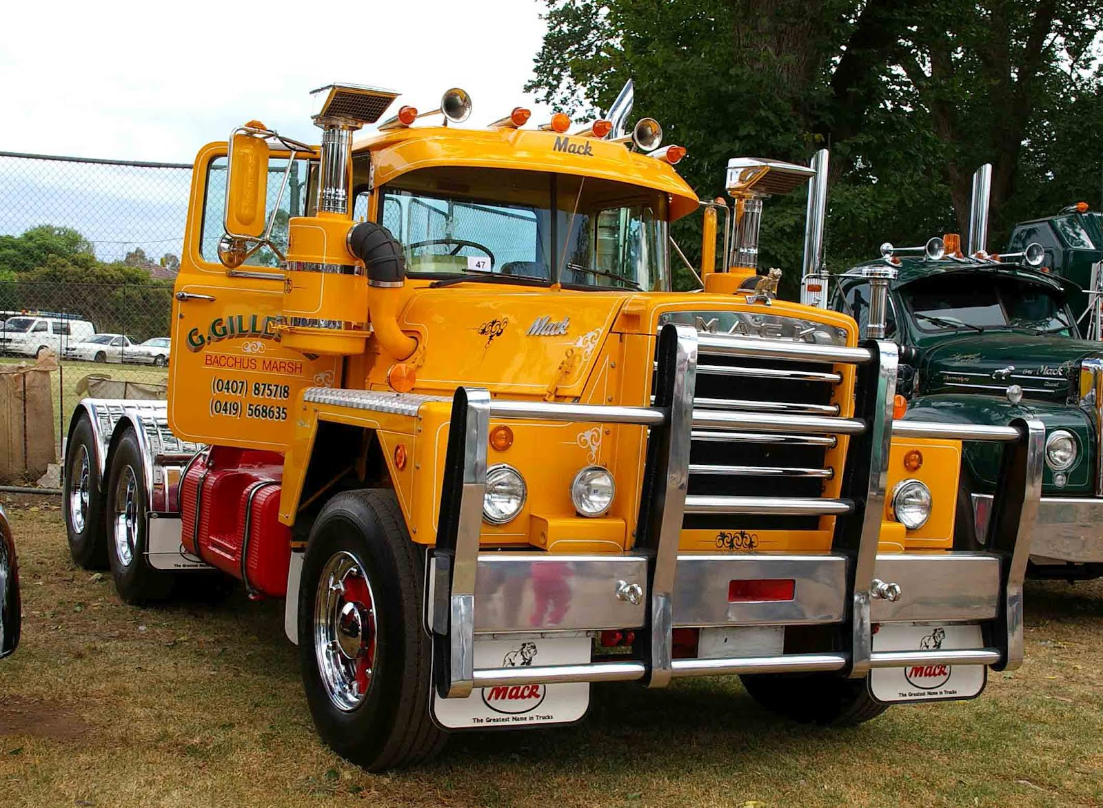 1973 Mack Tractor Truck : Old mack engines free engine image for user manual