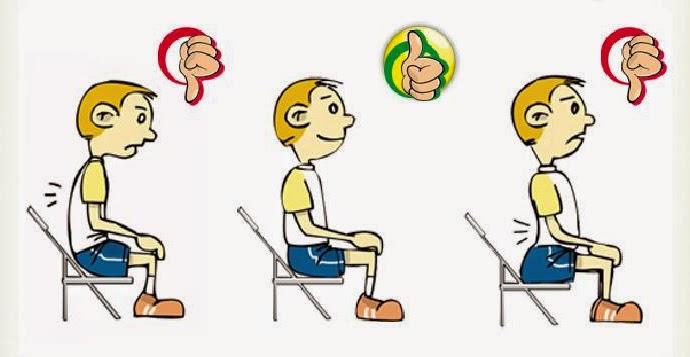 Educaci n f sica i e s almina la higiene y la salud la for Sillas para una buena postura