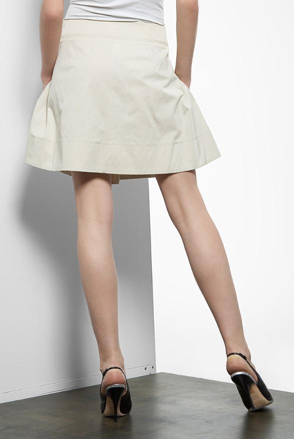 юбка с бантовыми складками с доставкой