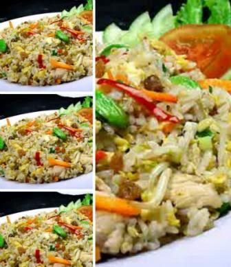 Resep Nasi Goreng Sehat (Aneka Sayur)