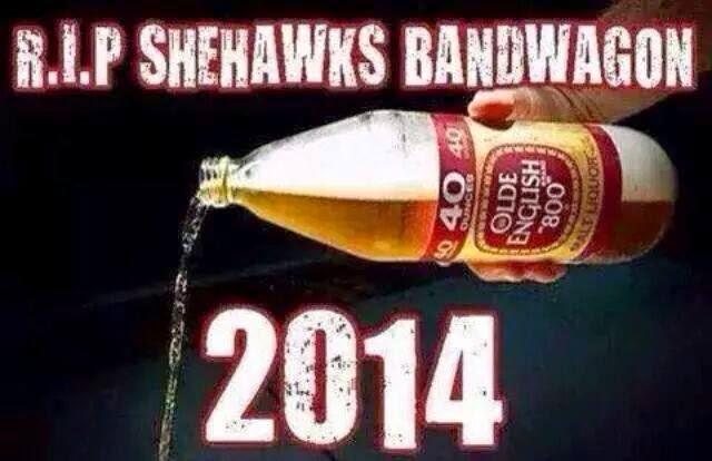 R.I.P Shehawks bandwagon 2014