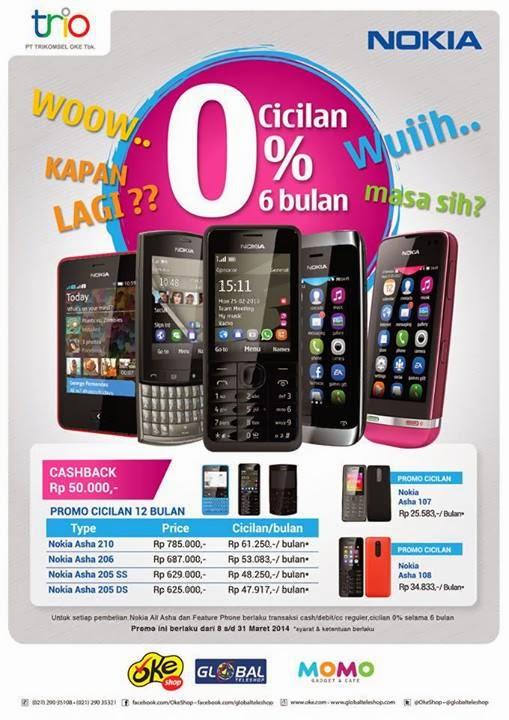 Nokia Murah Cicilan 0%