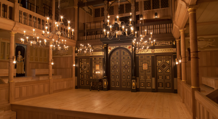 Sam Wanamaker Playhouse - photo credit Nick Gutteridge