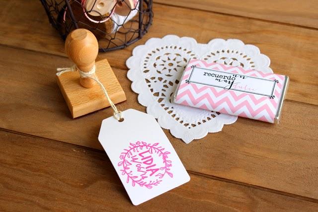 sello personalizado comunión niña hermanas bolena