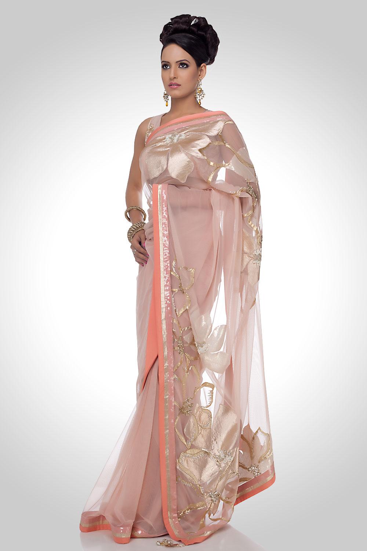 Satya Paul Embroidered Sarees Indian Saree Trends 2012
