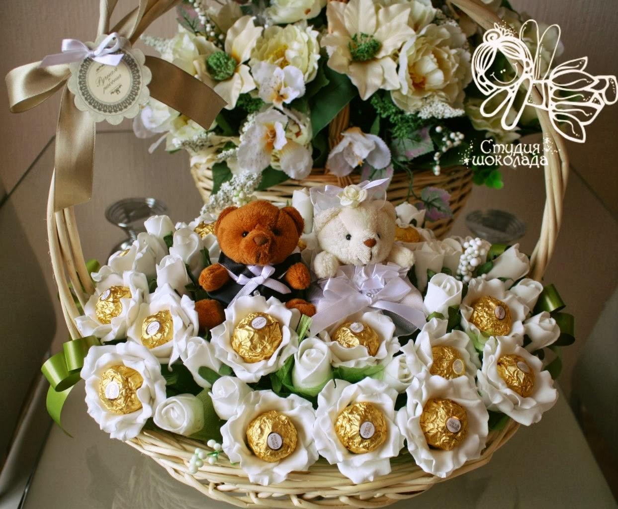 Букет на свадьбу в подарок молодоженам от родных и близких 5