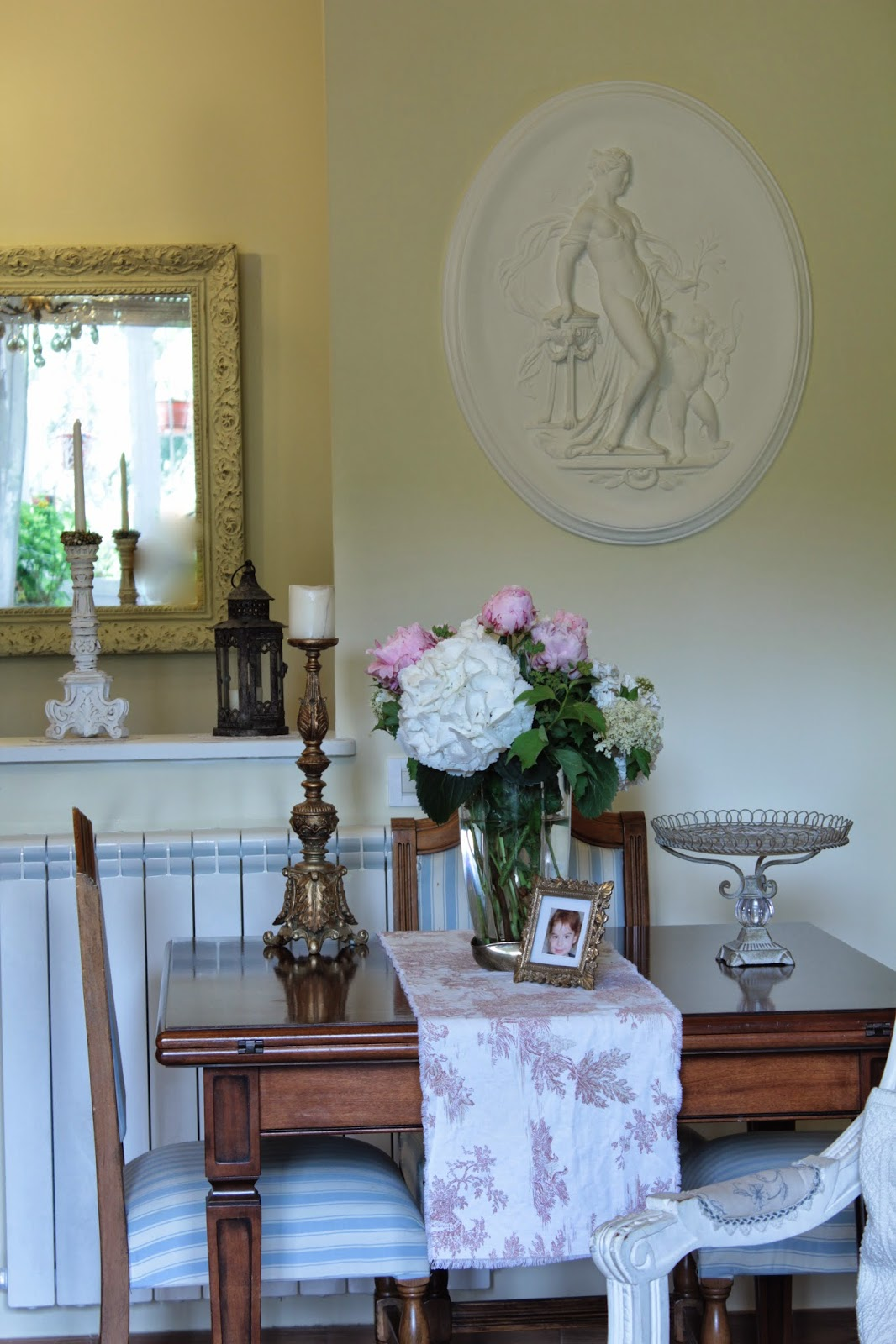 My roseinitaly angolo pranzo - Pittura sala da pranzo ...