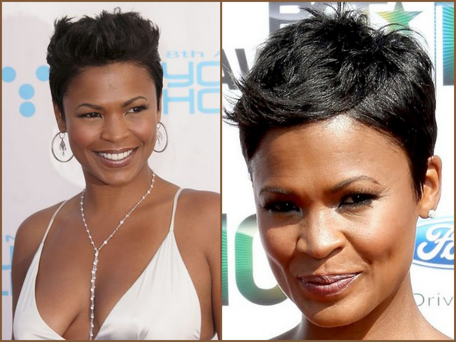 5 Fab Ladies With Fierce Short Cuts Longing 4 Length