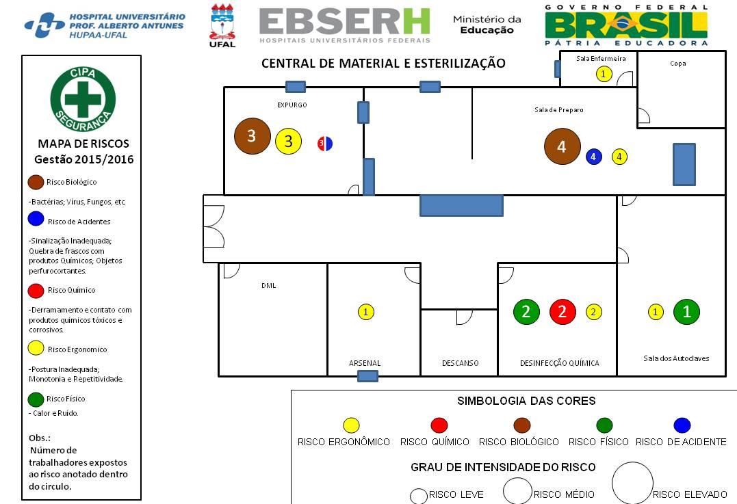 Mapa De Risco De Uma Cozinha Industrial Oppenau Info