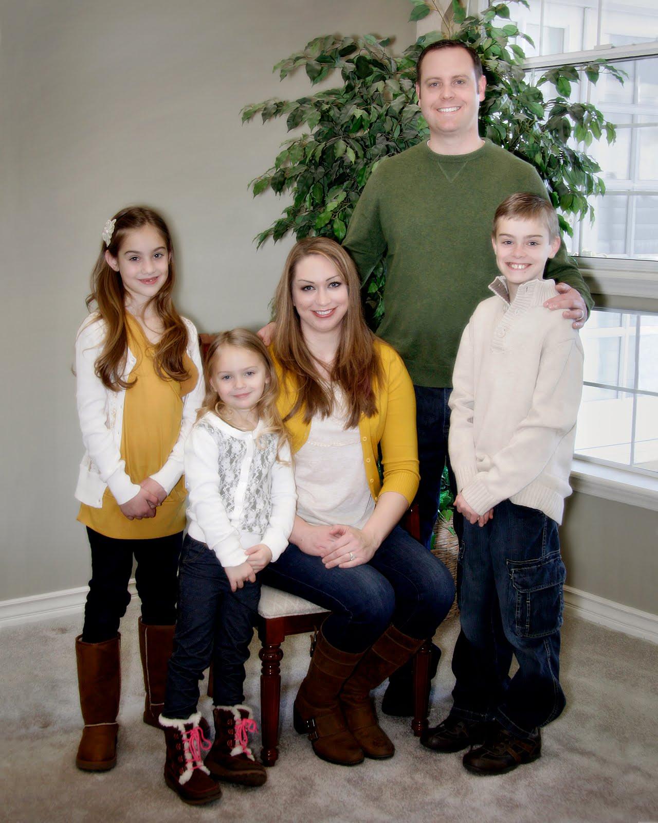 Eric, Nicole, Ethan, Ella, and Livi