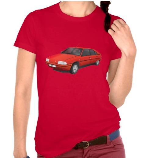 CItroën BX t-shirt t-paita t-tröja