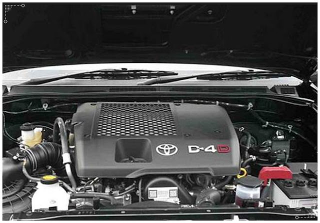 2017 Toyota Hilux Engine Modifications