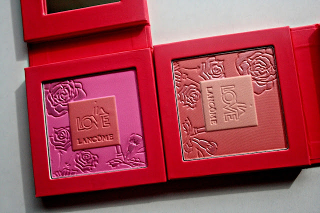 Lancome In Love Spring 2013 Collection - Blush In Love in 10 Pche Joue-Joue, 20 Pommettes D&#8217;Amour