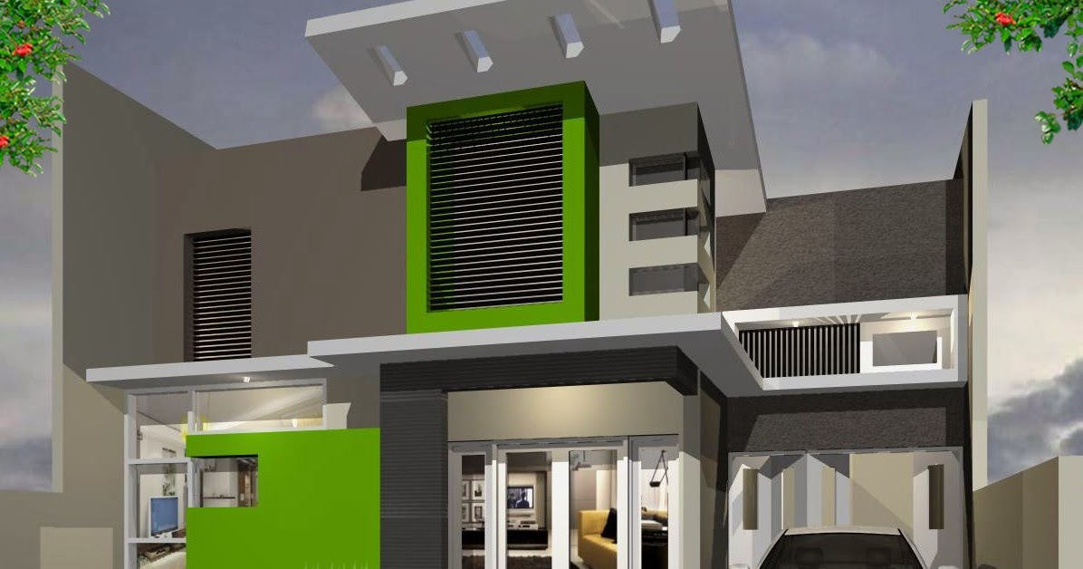 gambar rumah tampak depan minimalis